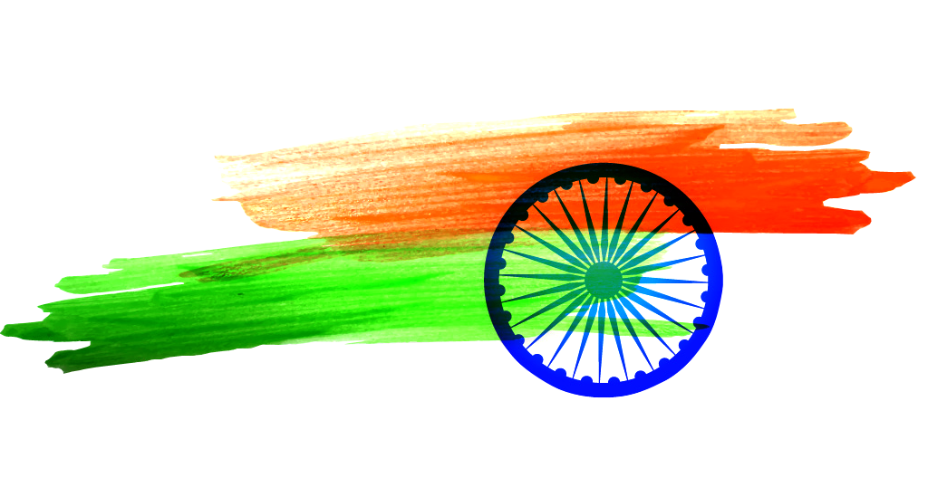 Indian Flag Stickers