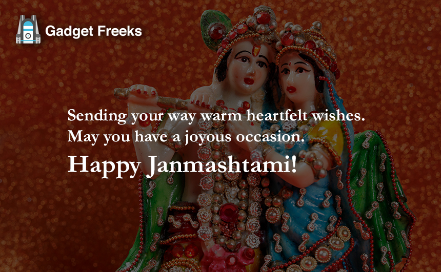 Janmashtami Wishes