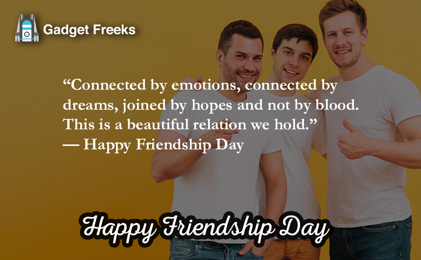 friendship day slogans