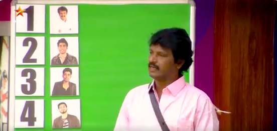 Bigg Boss 3 Tamil September 17 Cheran says he deserves to be no.1 Kavin laughs