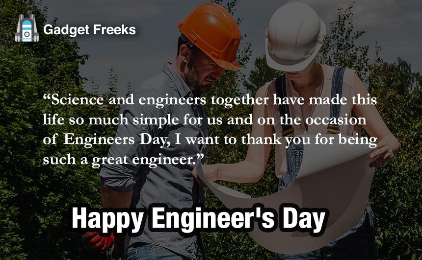 Engineer Day Captions