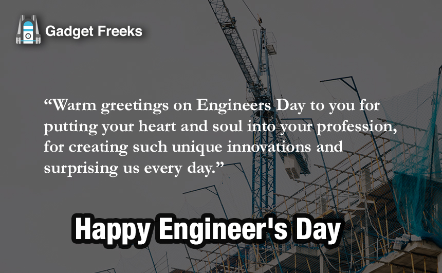 Engineer Day Messages