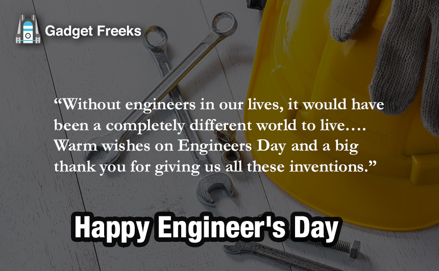 Engineers Day Status