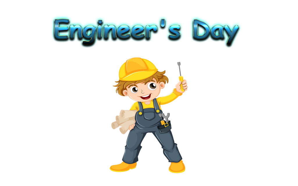 Engineers Day Sticker for Whatsapp