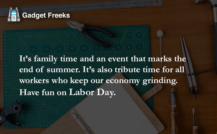 Happy Labor Day Messages