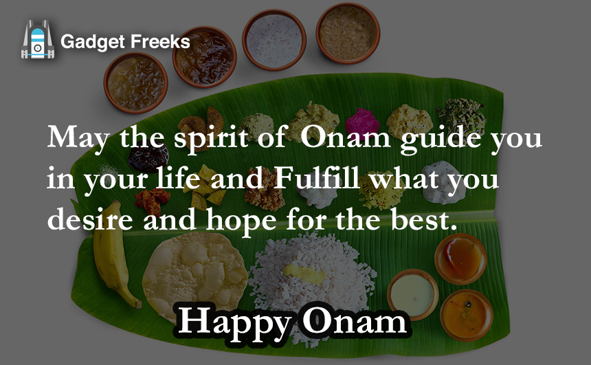 Happy Onam SMS