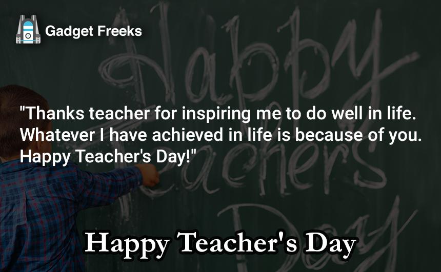 Teacher's Day Messages