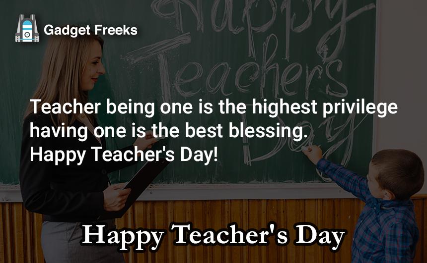 Inspirational Teacher's Day Messages