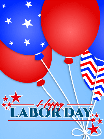 Labor Day 2019 Greeting Card