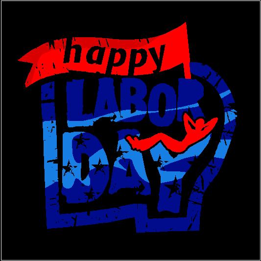 Labor Day 2019 Sticker