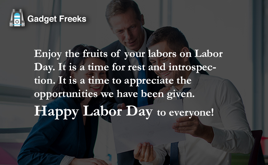 Labor Day Messages for Employees & Workers
