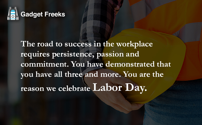 Labor Day Wishes Employees & Boss