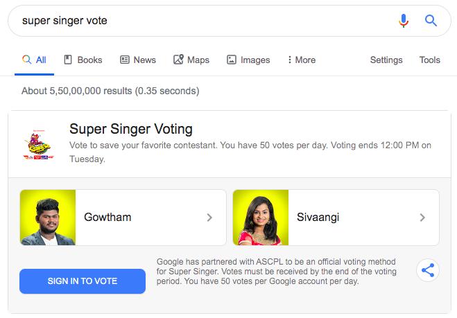 Super Singer 7 Online Vote: It is Gowtham vs Sivaangi This Week!