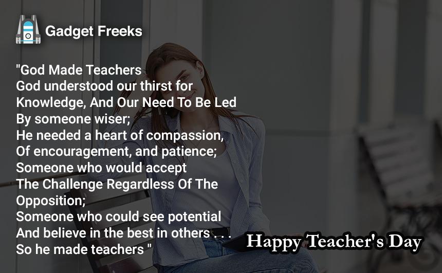 Teacher's Day Shayari