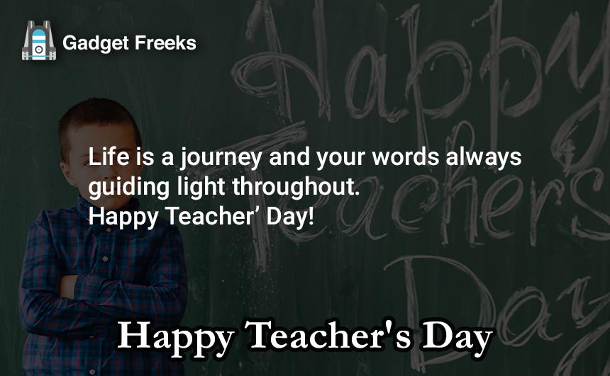 Teacher's Day Short Status