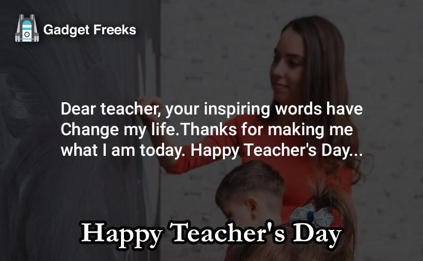 Teacher's Day Status for Whatsapp