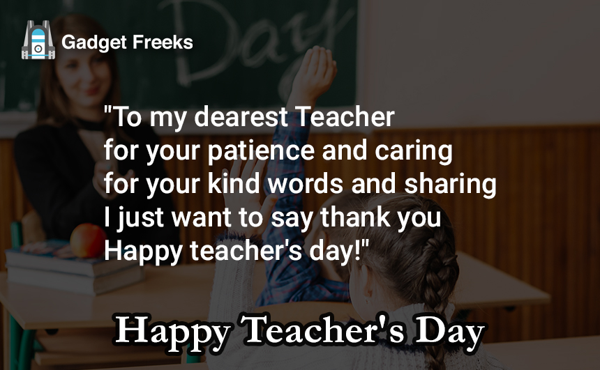Teachers Day 2019 Wishes