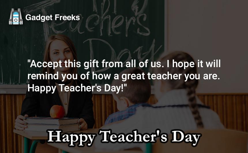 Teacher's Day SMS