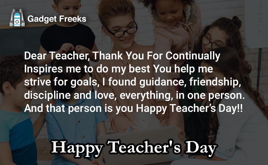 Teachers Day Slogans