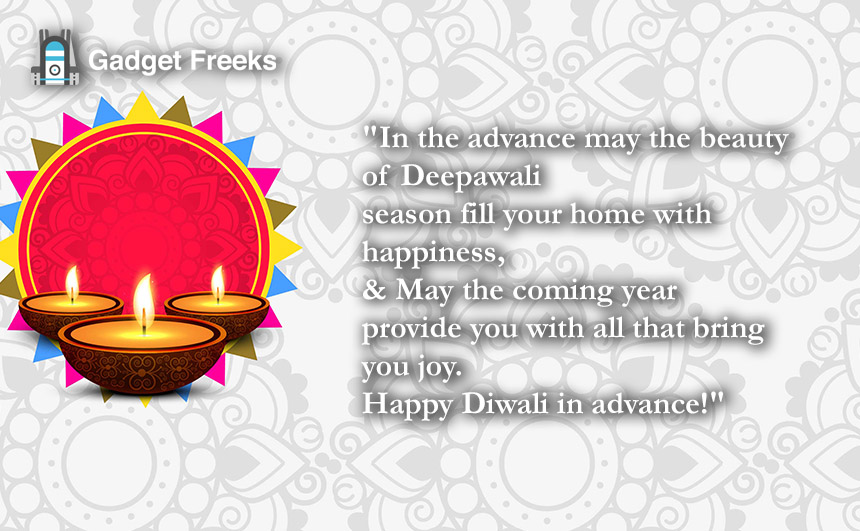 Advance Happy Diwali Images 2019
