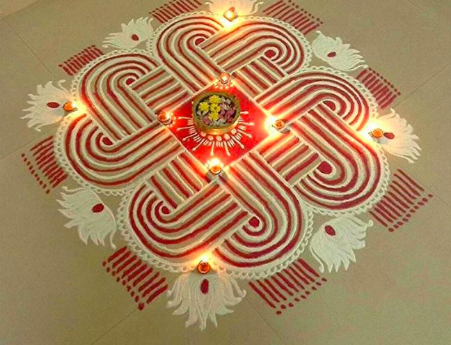 Beautiful Rangoli Designs For Diwali Festival