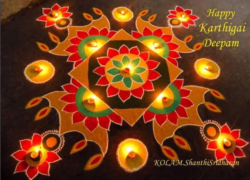 BestRangoli Design For Diwali 2019