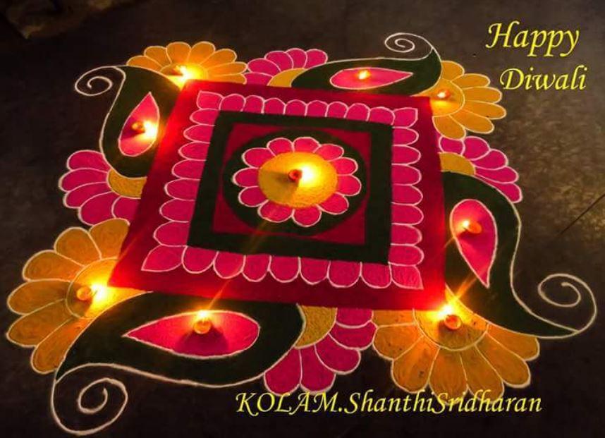 BestRangoli Design For Diwali