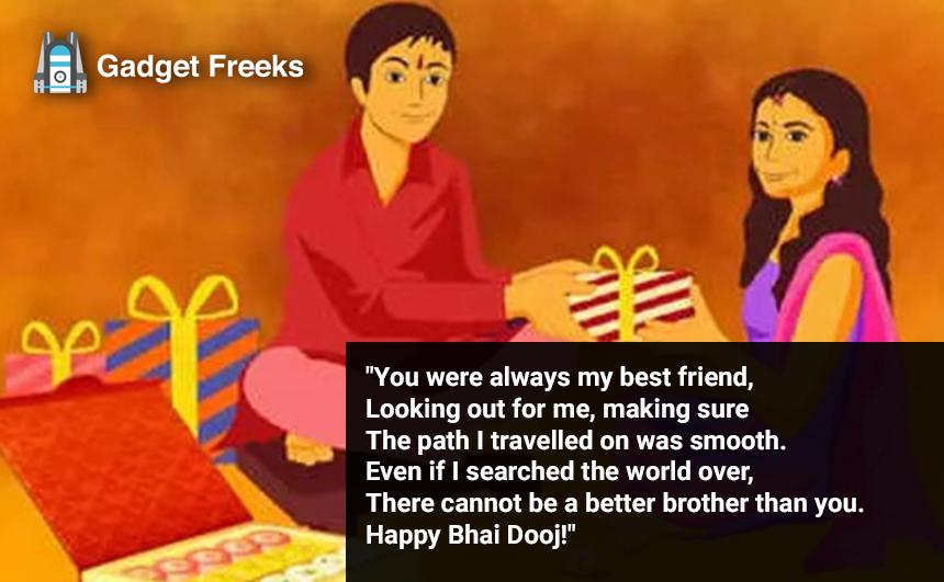 Bhai Dooj Status for Sister & Brother