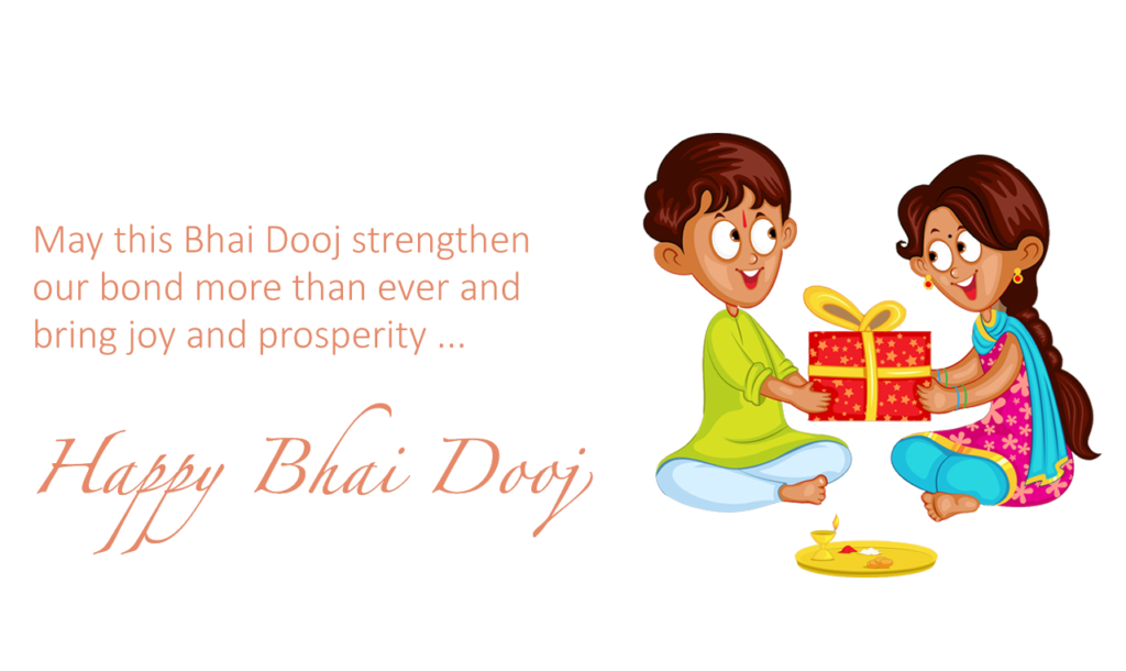 Bhai Dooj Stickers for Sister & Brother