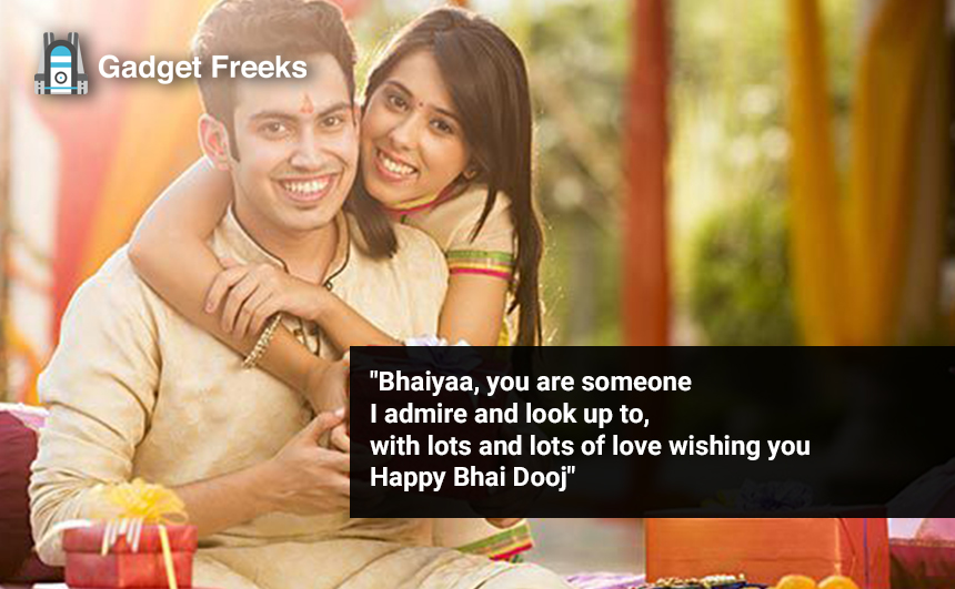 Bhai Dooj Wishes for Brother & Sister