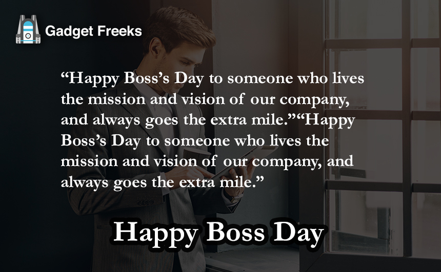 Boss Day 2019 Wishes