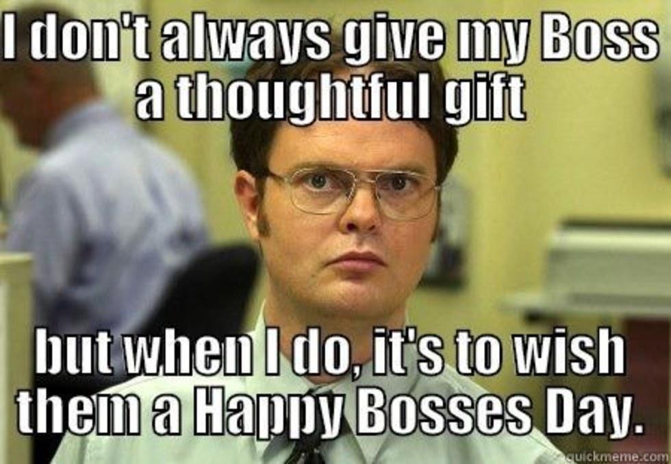 Boss Day Memes for Whatsapp