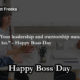 Boss Day Quotes
