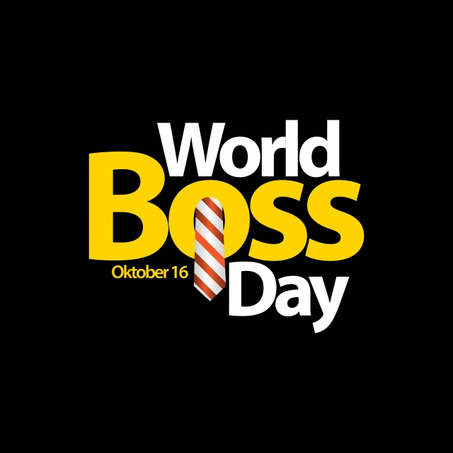 Boss Day Stickers