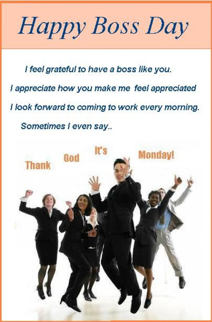 Boss Day funny jokes