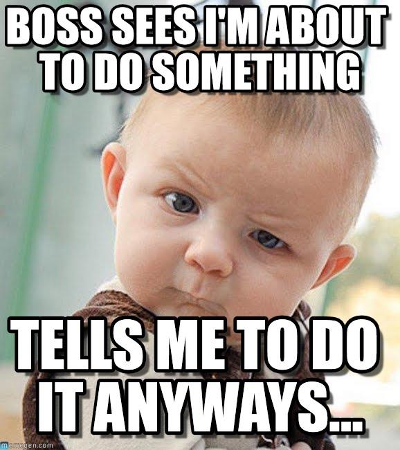 Boss Day memes for boss's