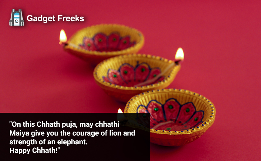 Chhath Puja Messages