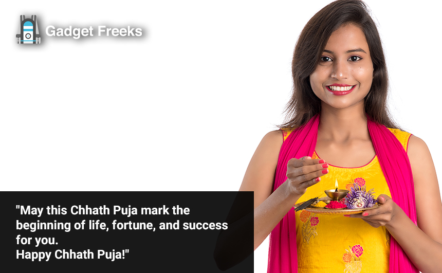 Chhath Puja Wishes for Friends & Family