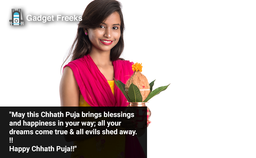 Chhath Puja Wishes for Girlfriend, Boyfriend & Lovers