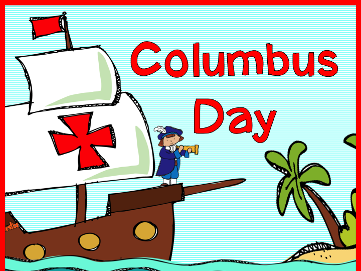 Columbus Day Cliparts