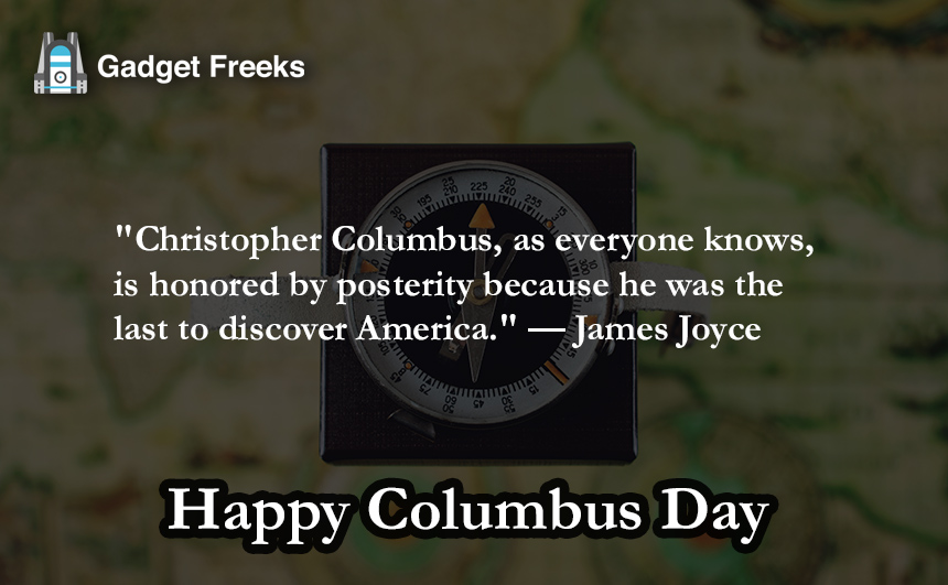 Happy Columbus Day 2019 Quotes Captions Sayings Slogans
