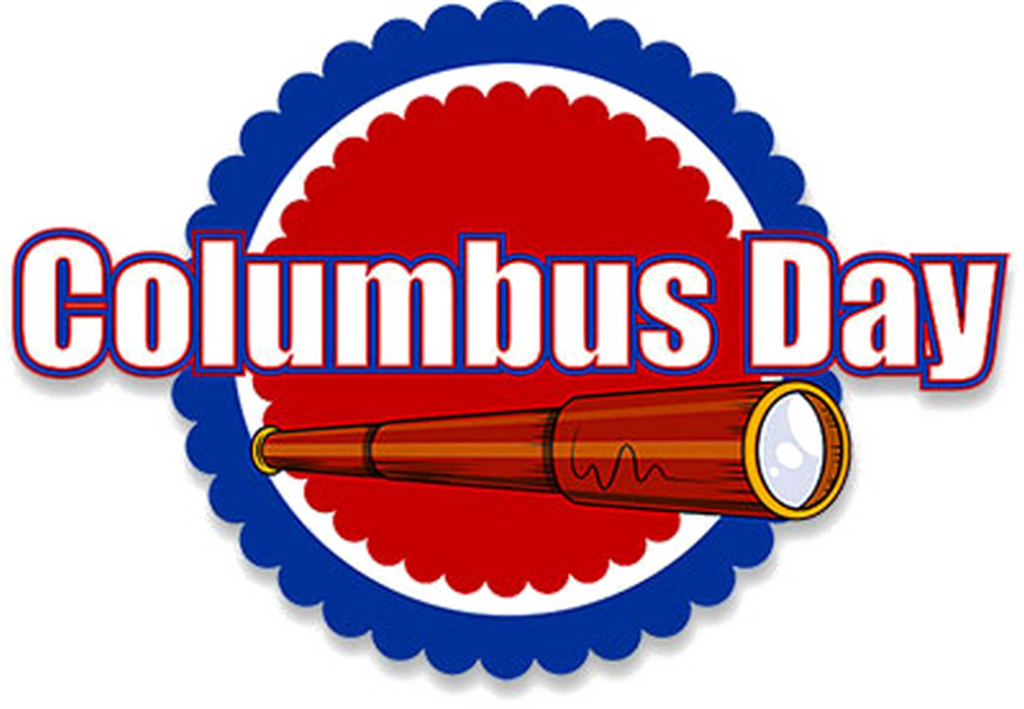 Columbus Day Stickers
