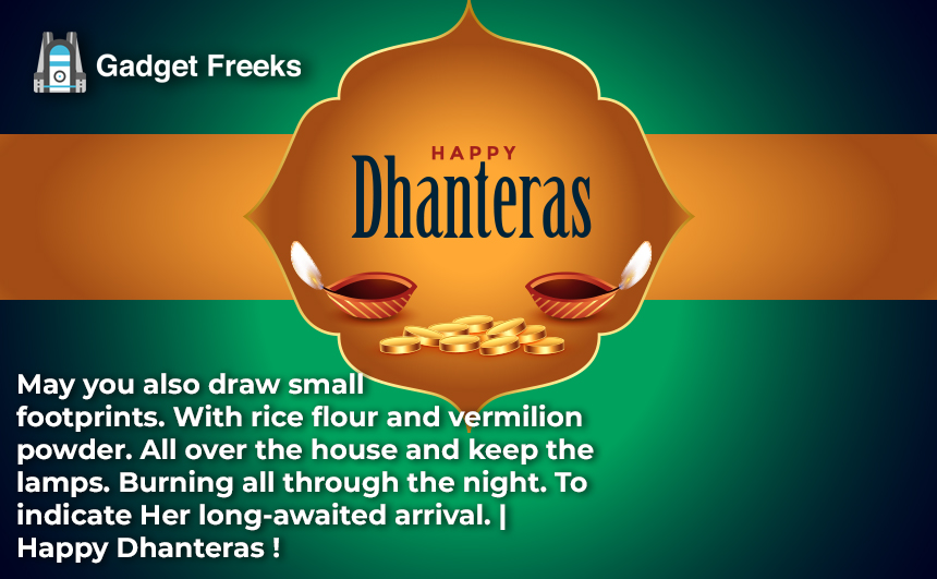 Dhanteras Status for Whatsapp