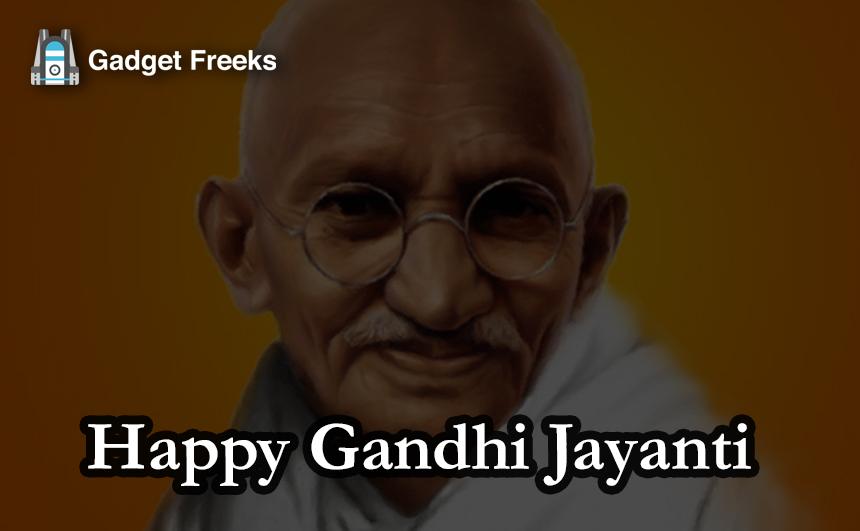 Gandhi Jayanti 2019 Images