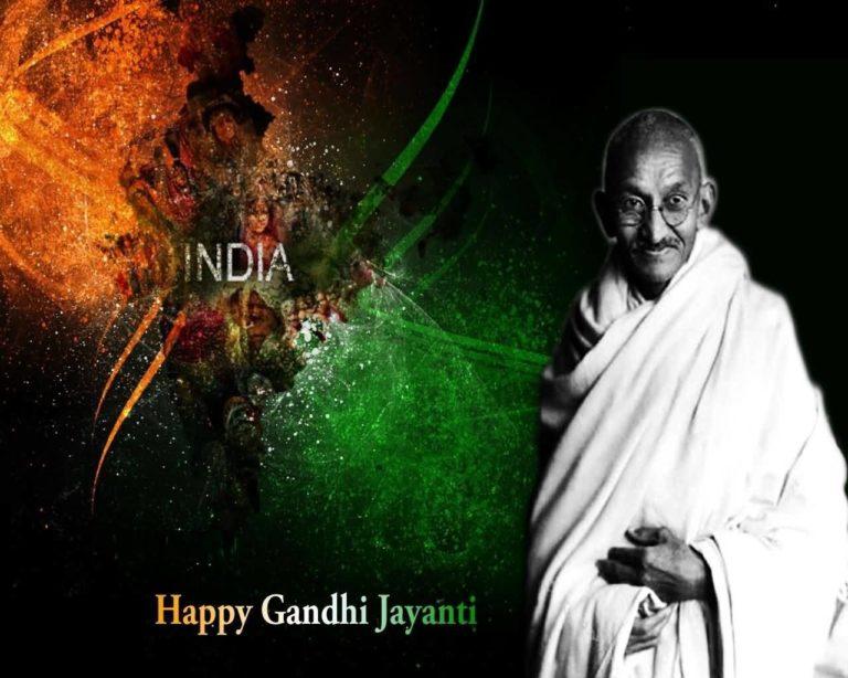 Gandhi Jayanti DP for Whatsapp