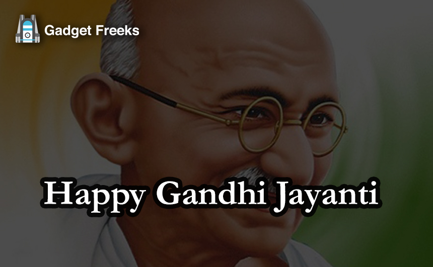 Gandhi Jayanti Images for Whatsapp