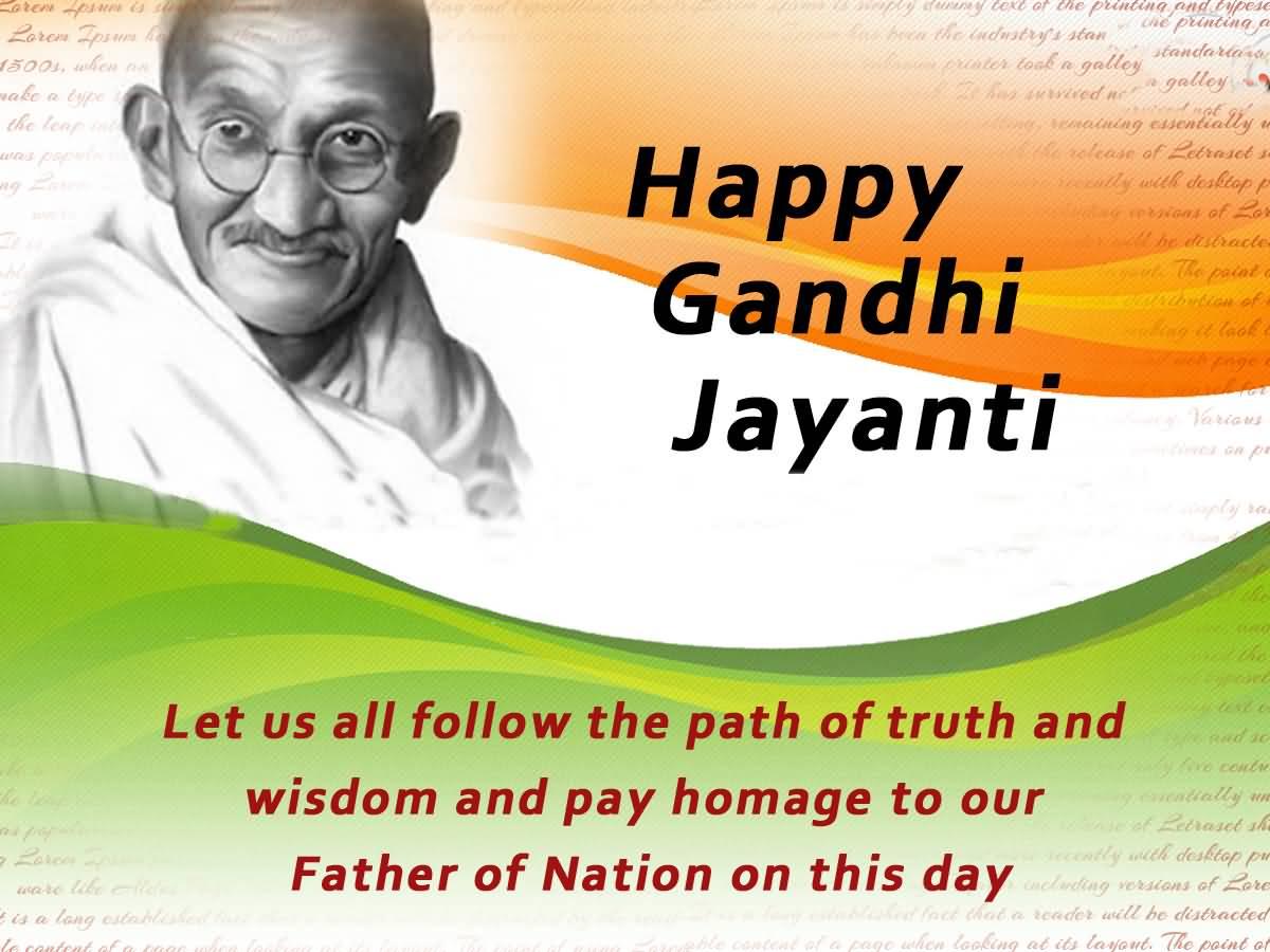 Gandhi Jayanti SMS
