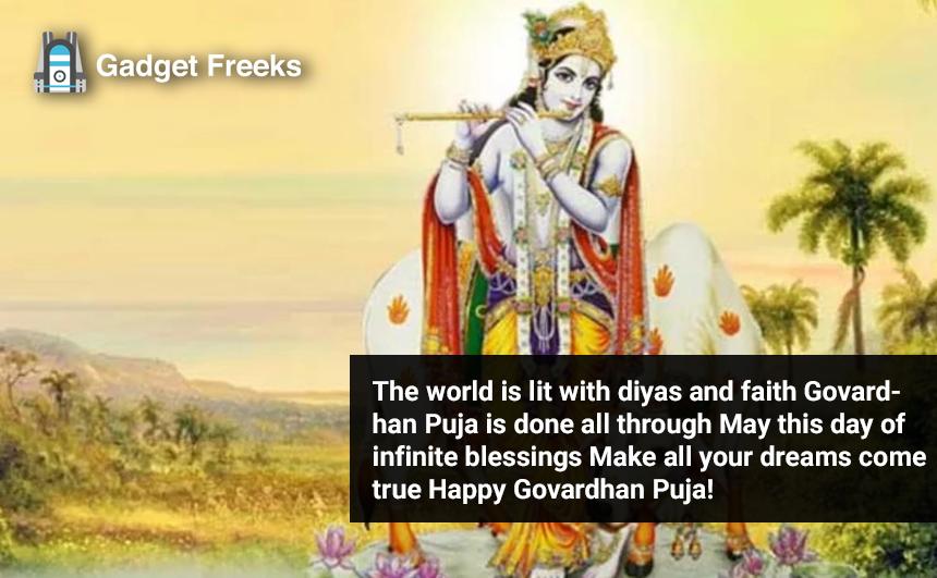 Govardhan Puja Greetings