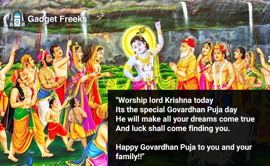 Govardhan Puja Messages