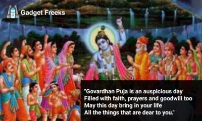 Govardhan Puja Status